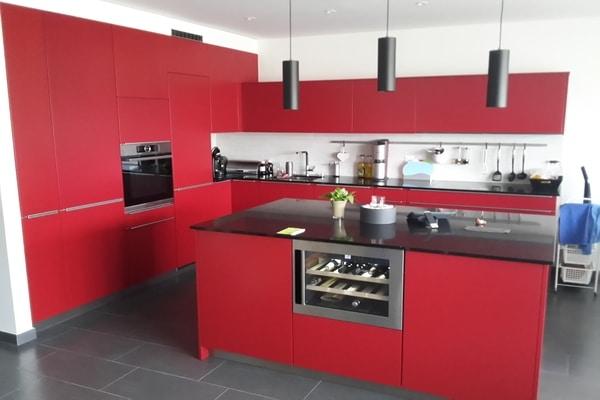 Rénovation de Cuisine – Rouge